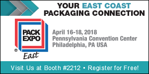 PACKEXPO EAST 2018 LOGO
